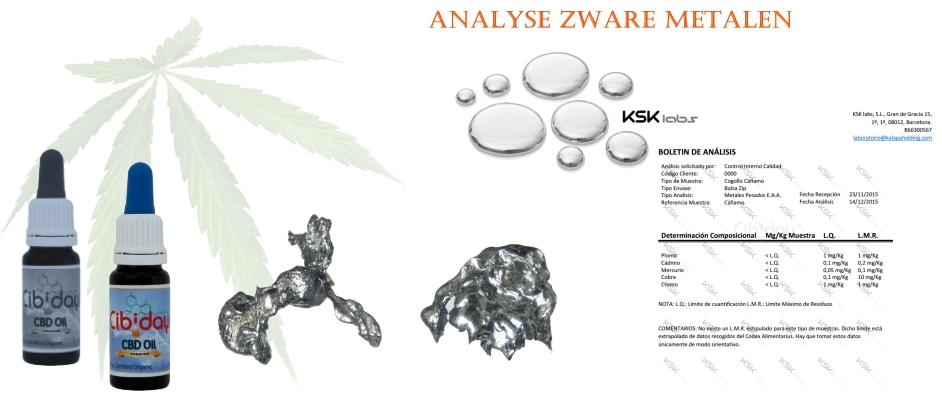Analyse Verontreiniging Zware Metalen