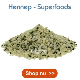 Hennep - Superfoods Cibiday