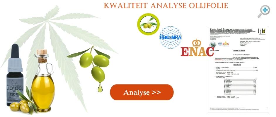 Labtest Kwaliteit Analyse Olijfolie