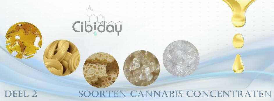 Lijst Soorten Cannabis Concentraten