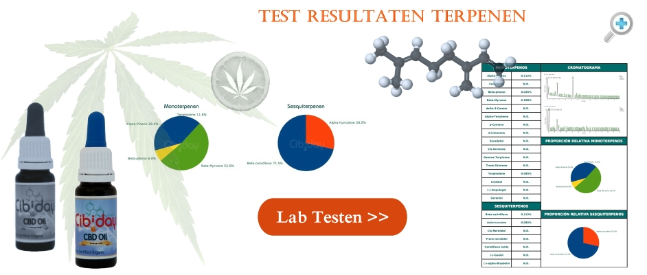 Test Resultaten Terpenen