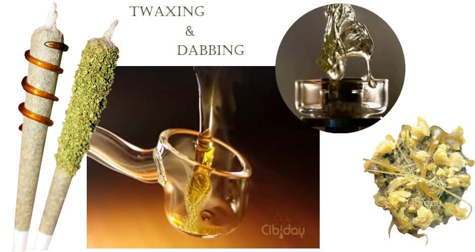 Twaxing en Dabbing